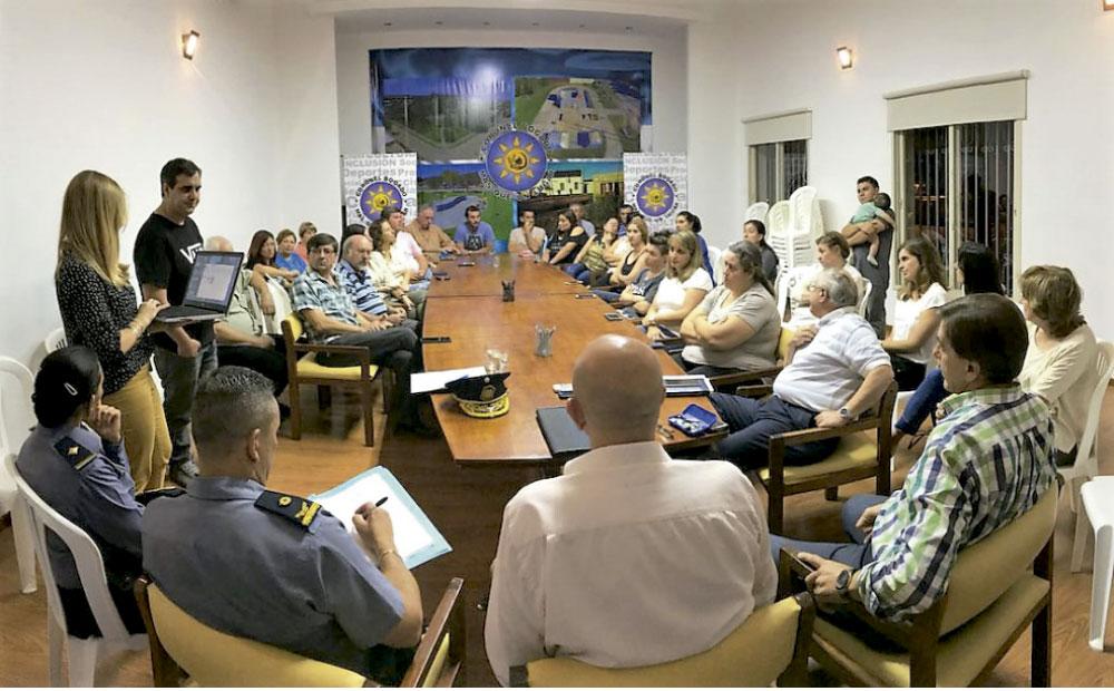 Primera reunión del Consejo de Seguridad